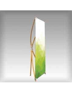 X Banner Bambou 60x160