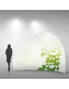 Stand Tissu montagne - PosterExpo
