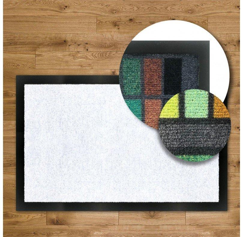 Tapis d'entrée Logo Classique - Bord PVC