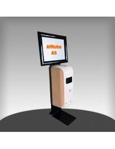 Distributeur automatique de gel hydro-alcoolique pour table